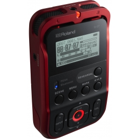 ROLAND R07RD PORTABLE RECORDER RED