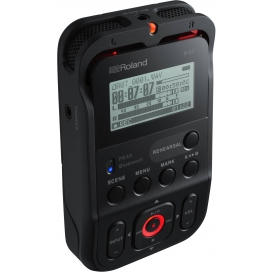 ROLAND R07BK PORTABLE RECORDER BLACK