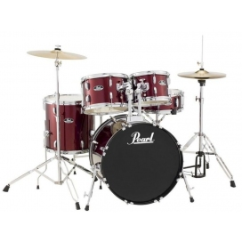 PEARL RS585C/C91 ROADSHOW 5 PIECES SET WINE RED