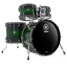 YAMAHA LIVE CUSTOM HYBRID ROCK EMERALD SHADOW SUNBURST