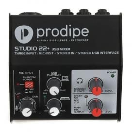 PRODIPE STUDIO22+ INTERFACCIA USB 2i2o