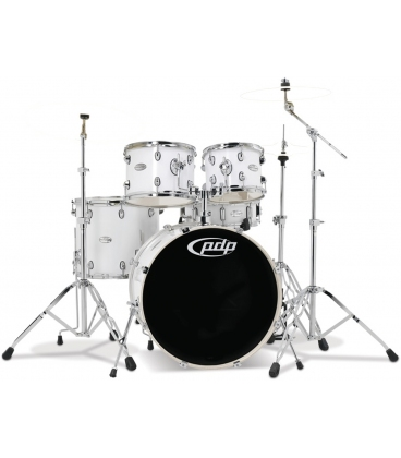 "PDP BY DW MAINSTAGE SET 20"" GLOSS WHITE"