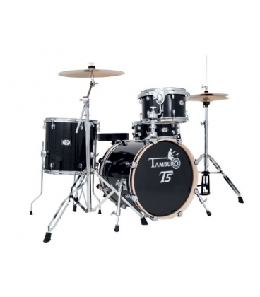 TAMBURO T5J18BSSK KIT T5 18/14/12/14X5,5 BLACK SPARKLE