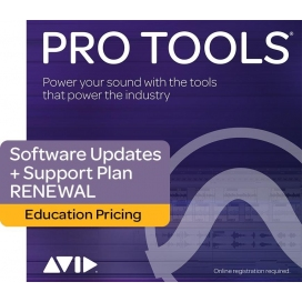 AVID PRO TOOLS STUDENT ANNUAL UPGRADE PLAN RENEWAL