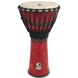TOCA SFDJ-12RP FREESTYLE DJEMBE BALI RED