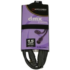 AMERICAN DJ AC-DMX5/1.5 CAVO DMX 1.5 METRI XLR 5 POLI