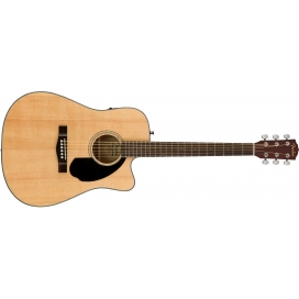FENDER CD60SCE NAT. WN