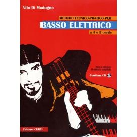 DI MODUGNO METODO TECNICO-PRATICO BASSO ELETTRICO + CD