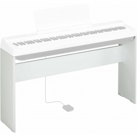 YAMAHA L125WH PIANO STAND SERIE P BIANCO