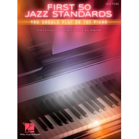 AAVV FIRST 50 JAZZ STANDARDS YOU SHOULD PLAY ON PIANO