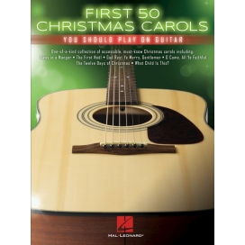 AAVV FIRST 50 CHRISTMAS CAROLS YOU SHOULD PLAY ON GUITAR