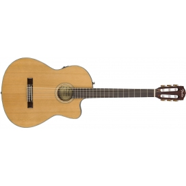 FENDER CN-140SCE NATURAL WN W/CASE