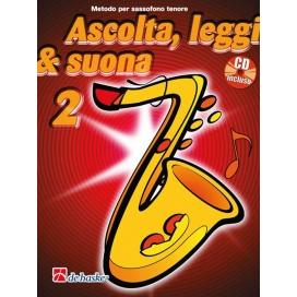 KASTELEIN/OLDENKAMP ASCOLTA LEGGI SUONA - SAX TENORE VOLUME 2 +CD