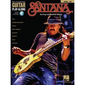 AAVV GUITAR PLAY ALONG VOLUME 21: SANTANA