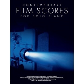 AAVV CONTEMPORARY FILM SCORES FOR SOLO PIANO