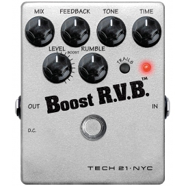TECH21 BOOST RVB REVERB EMULATOR