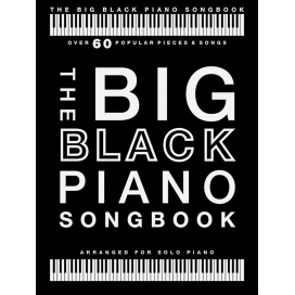 AAVV THE BIG BLACK PIANO SONGBOOK