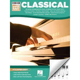 AAVV CLASSICAL SUPER EASY SONGBOOK