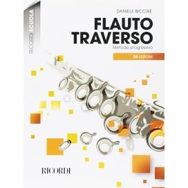BICCIRE' FLAUTO TRAVERSO - METODO PROGRESSIVO 20 LEZIONI+CD
