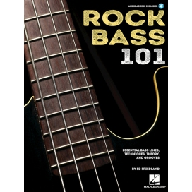 FRIEDLAND ROCK BASS 101 + AUDIO ACCESS