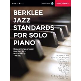 CHRISTOPHERSON E ALTRI BERKLEE JAZZ STANDARDS FOR SOLO PIANO