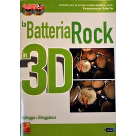 ALARIO BATTERIA ROCK 3D + CD E DVD