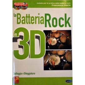 ALARIO BATTERIA ROCK 3D +CD +DVD ML3278