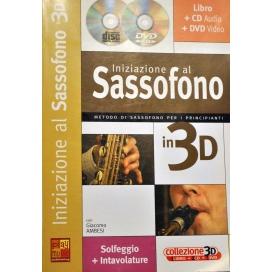 AMBESI INIZIAZIONE SAX 3D+CD+DVD ML3181