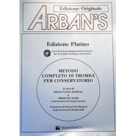 ARBAN METODO COMPLETO TROMBA + CD MB192