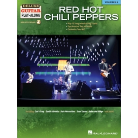 RED HOT CHILI PEPPERS DELUXE GUITAR PLAY-ALONG+VIDEO ONLINE