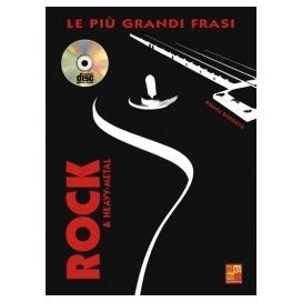 BARBATO PIU' GRANDI FRASI CHITARRA ROCK +CD ML3409
