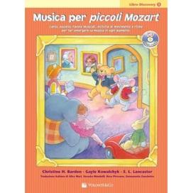 BARDEN MUSICA PER PICCOLI MOZART DISCOVERY V.1 + CD MB246