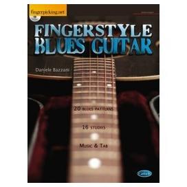 BAZZANI FINGERSTYLE BLUES GUITAR + CD ML3288