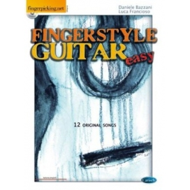BAZZANI/FRANCIOSO FINGERSTYLE EASY GUITAR + CD FAL0010