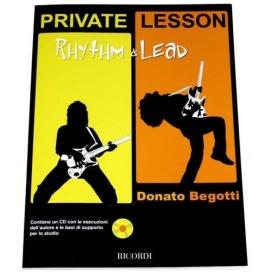 BEGOTTI PRIVATE LESSONS: RHYTHM & LEAD + CD - MLR 679