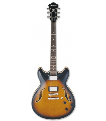 IBANEZ AS73-BS SEMI ACOUSTIC BROWN SUNBURST