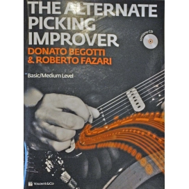 BEGOTTI/FAZARI ALTERNATE PICKING IMPROVER + CD