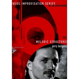 BERGONZI MELODIC STRUCTURE + CD IMPROVVISAZIONE MB242