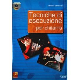 BEVILACQUA TECNICHE DI ESECUZIONE PER CHITARRA +DVD ML3048