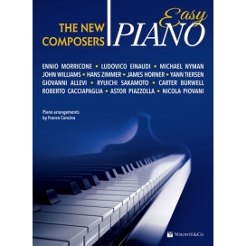 AAVV THE NEW COMPOSERS EASY PIANO