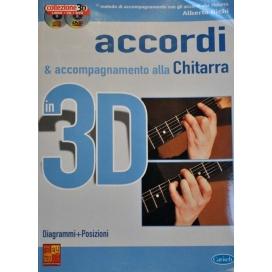 BICHI ACCORDI PER L'ACCOMPAGNAMENTO DI CHITARRA 3D + CD E DVD ML3182