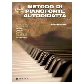 BORGAZZI METODO PIANOFORTE AUTODIDATTA + CD MB271