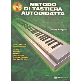 BORGAZZI METODO TASTIERA AUTODIDATTA + CD MB186