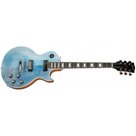 GIBSON LES PAUL DELUXE PLAYER PLUS SATIN OCEAN BLUE