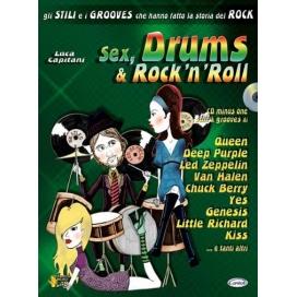 CAPITANI SEX, DRUMS & ROCK'N'ROLL +CD