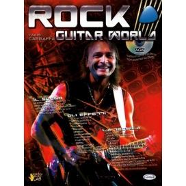 CARRAFFA ROCK GUITAR WORLD +DVD ML2868