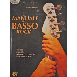 CAUDAI MANUALE DEL BASSO ROCK +CD ML2968