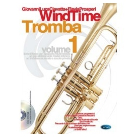 CIAVATTA/PROSPERI WINDTIME TROMBA + CD