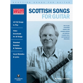 CARNAHAN SCOTTISH SONGS FOR GUITAR + AUDIO ON LINE