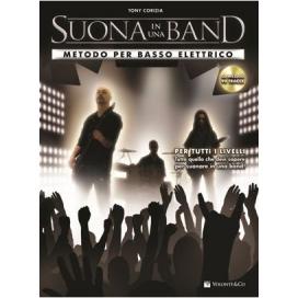 CORIZIA SUONA IN UNA BAND! BASSO + CD